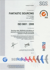 ISO 9001-2008 certificate Fantastic Sourcing